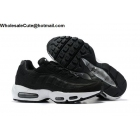 wholesale Nike Air Max 95 LX NSW Black White Mens Shoes