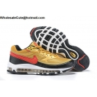 Nike Air Max 97 BW Metallic Gold Red Mens Shoes