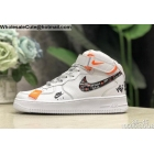 Mens & Womens Nike Air Force 1 Mid Just Do It White