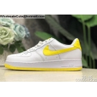 wholesale Mens & Womens Nike Air Force 1 Low White Yellow