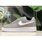 wholesale Mens & Womens Nike Air Force 1 Low Wolf Grey White