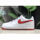 wholesale Nike Air Force 1 Low Jewel White Red Mens Shoes