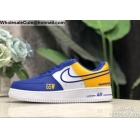 Nike Air Force 1 Low NBA Golden State Warriors Mens Shoes