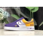 Nike Air Force 1 Low NBA Los Angeles Lakers Mens Shoes
