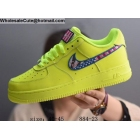 Nike Air Force 1 Low Parra Volt Green Mens Shoes
