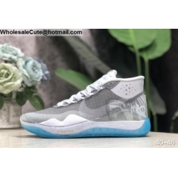 Nike KD 12 Grey White Mens Basketball Shoes