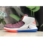 Air Jordan XXXII 32 White ...