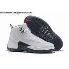 Air Jordan 12 White Black ...