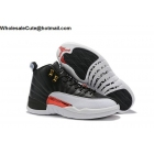 Air Jordan 12 Black White ...