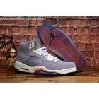 Trophy Room Air Jordan 5 Grey Red White Mens Shoes