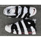 wholesale Mens & Womens Nike Air More Uptempo White Black University Red