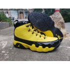 wholesale Air Jordan 9 Retro Bumblebee Yellow Black Mens Shoes