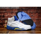 Air Jordan 5 Retro Laney White Mens Shoes