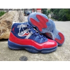 wholesale Air Jordan 11 Champion Blue Red Mens Shoes