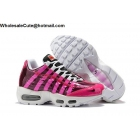 Womens Nike Air Max 95 By Christian White Pink Black