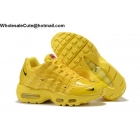 Womens Nike Air Max 95 By Christian All Yellow