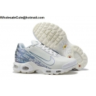 Nike Air Max Plus TN Just Do It White Blue Mens Shoes