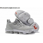 Atmos Nike LeBron 16 Low Cool Grey Mens Shoes