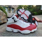 wholesale Jordan 6 Rings White Red Mens Basketball Shoes