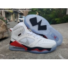 Jordan Mars 270 White Black Fire Red Mens Shoes