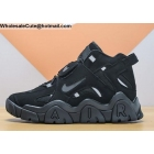 Nike Air Barrage Mid All Black Mens Shoes