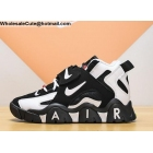 wholesale Nike Air Barrage Mid White Black Mens Shoes