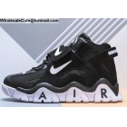 wholesale Nike Air Barrage Mid Black White Mens Shoes