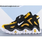 wholesale Nike Air Barrage Mid Black Yellow White Mens Shoes