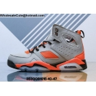 wholesale Air Jordan 6 Grey Orange Black Mens Shoes