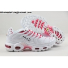 wholesale Womens Nike Air Max Plus TN White Red