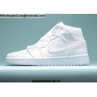 wholesale Mens & Womens Air Jordan 1 Retro All White