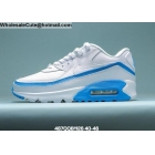 Undefeated Nike Air Max 90 White Blue Mens Shoes