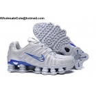 wholesale Nike Shox TL Grey Blue Mens Athletic Shoes