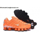 wholesale Nike Shox TL Orange Silver Mens Athletic Shoes