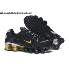 wholesale Mens & Womens Nike Shox TL Black Gold
