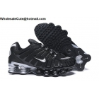 wholesale Nike Shox TL Black Silver Mens Athletic Shoes