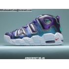 wholesale Mens & Womens Nike Air More Uptempo Purple Pink Green