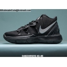 wholesale Nike Kyrie 5 Black Grey Mens Shoes