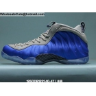 wholesale Nike Air Foamposite One Royal Blue Grey Mens Shoes