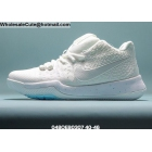 wholesale Nike Zoom Kobe 4 All White Mens Shoes