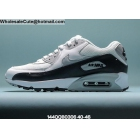 wholesale Nike Air Max 90 Volt Grey White Mens Shoes