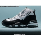 wholesale Mens Nike Air Max Uptempo 95 White Black