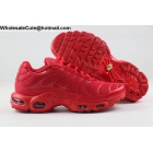 Nike Air Max Plus TN All Red Mens Shoes