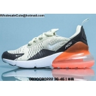 wholesale Mens & Womens Nike Air Max 270 White Black Orange