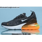wholesale Mens & Womens Nike Air Max 270 Black White Orange