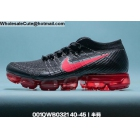 wholesale Mens Nike Air Vapormax Flyknit 2 Black Red