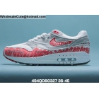 wholesale Mens & Womens Nike Air Max 1 Sketch To Shelf White Red