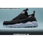 Mens & Womens Nike Air Huarache Black White