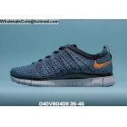 wholesale Mens & Womens Nike Free 5.0 Flyknit Blue Black White