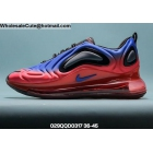 wholesale Mens & Womens Nike Air Max 720 Red Blue Black